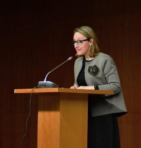 Giorgia Miotto insistió en el creciente interés que despiertan los programas de EADA entre la comunidad china.