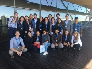 International Master in Tourism & Hospitality Management Class 2017 visiting CCIB Barcelona