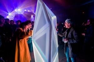 Una de las experiencias interactivas lumínicas diseñadas por ProtoPixel.