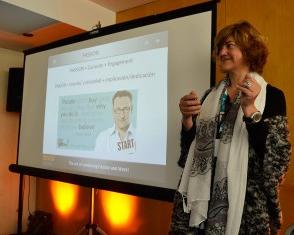 Annemie Peeters, asesora de Carreras Profesionales de EADA, habló en JOBarcelona 17 sobre la combinación de pasión y trabajo.
