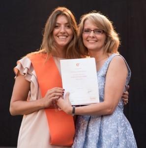 Isabella Steyer-Mader (Austria), graduada por el MBA Internacional, 2017.