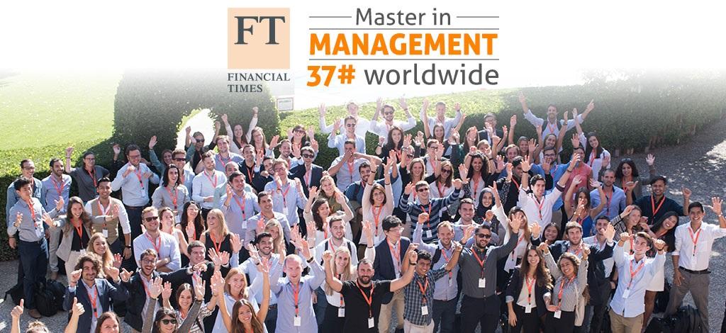 El Master in Management (MiM) de EADA, entre los mejores del mundo en 2017
