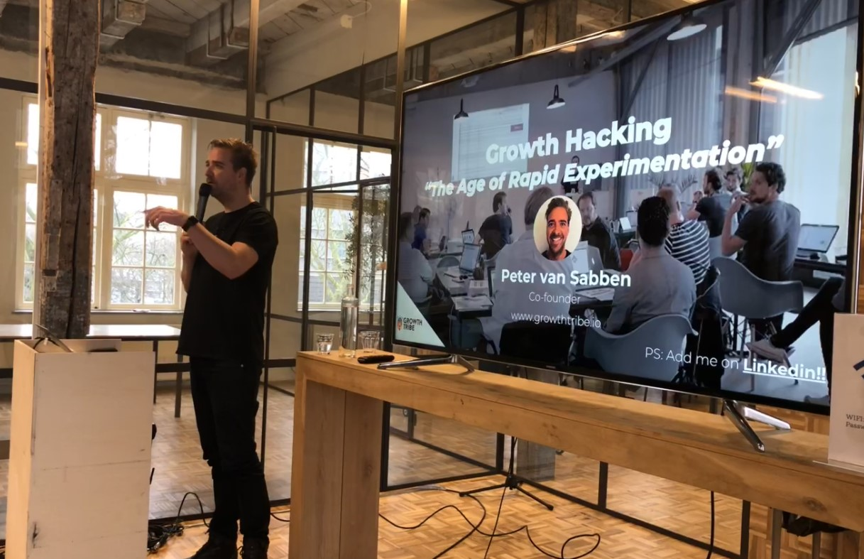 Peter van Sabben- Co-founder Growth Tribe, explains the importance of Growth Hacking in today´s business marketing strategies.