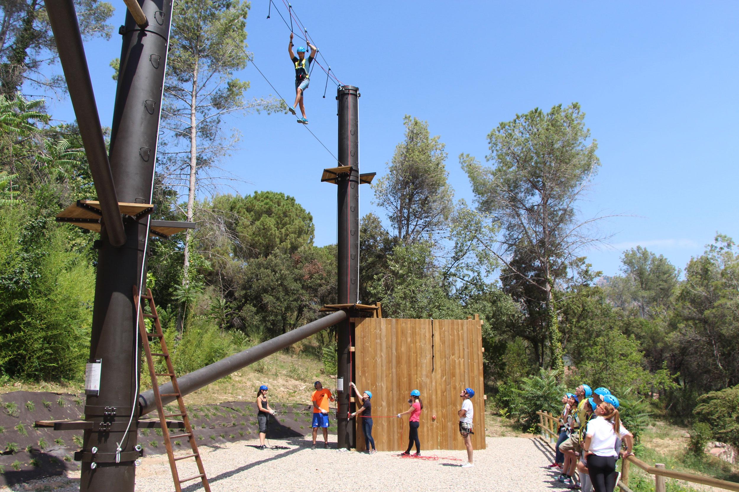 Nueva Zona Outdoor Training de Collbató.