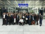 Los estudiantes de programas máster de Finanzas regresan del viaje internacional de negocios a Frankfurt
